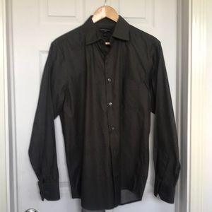 Men's dark brown shirt